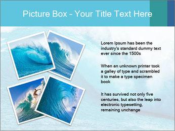 Blue Ocean PowerPoint Template - Slide 23