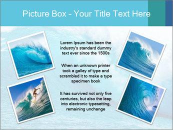 Blue Ocean PowerPoint Template - Slide 24