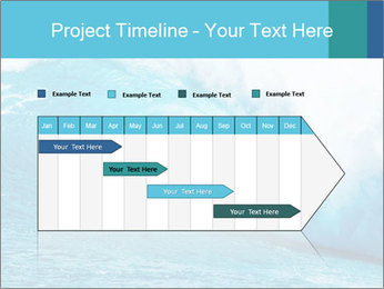 Blue Ocean PowerPoint Template - Slide 25