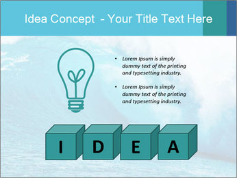 Blue Ocean PowerPoint Template - Slide 80