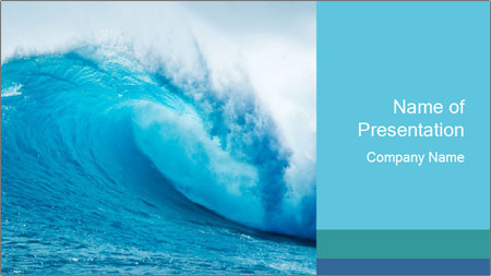 blue ocean powerpoint template backgrounds google slides id