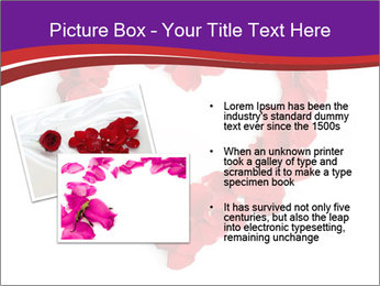 Beautiful heart of red rose PowerPoint Templates - Slide 20