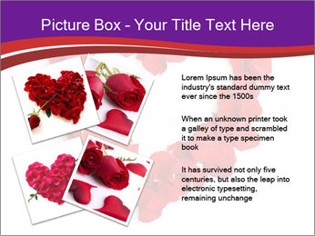 Beautiful heart of red rose PowerPoint Templates - Slide 23