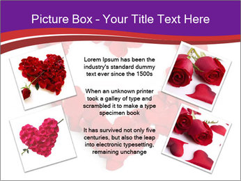 Beautiful heart of red rose PowerPoint Templates - Slide 24