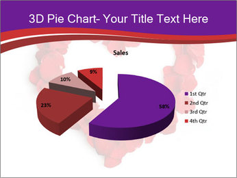 Beautiful heart of red rose PowerPoint Templates - Slide 35