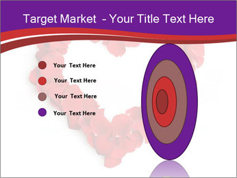 Beautiful heart of red rose PowerPoint Templates - Slide 84