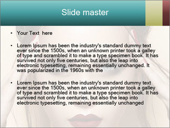 Hot young woman PowerPoint Templates - Slide 2