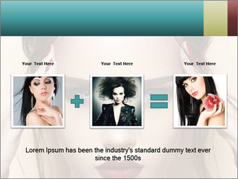 Hot young woman PowerPoint Templates - Slide 22