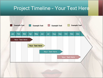 Hot young woman PowerPoint Templates - Slide 25