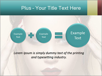 Hot young woman PowerPoint Templates - Slide 75