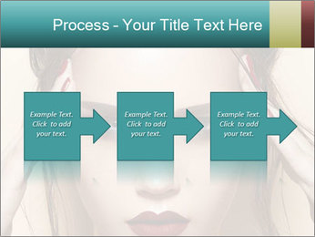 Hot young woman PowerPoint Templates - Slide 88