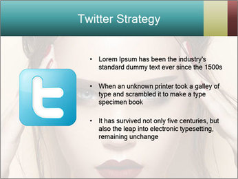 Hot young woman PowerPoint Templates - Slide 9