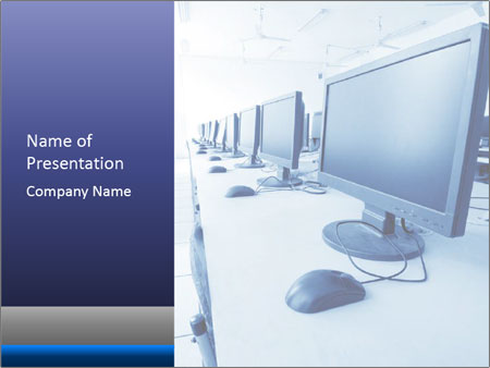 Computer Lab PowerPoint Templates
