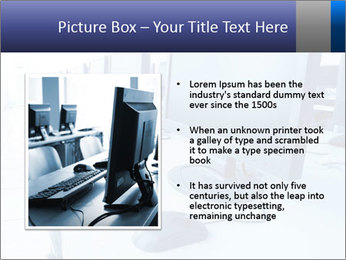 Computer Lab PowerPoint Template - Slide 13