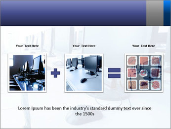 Computer Lab PowerPoint Template - Slide 22
