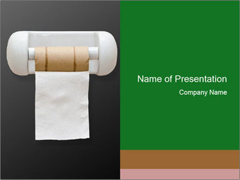 A last pad PowerPoint Template - Slide 1