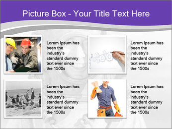 Portrait of man PowerPoint Template - Slide 14