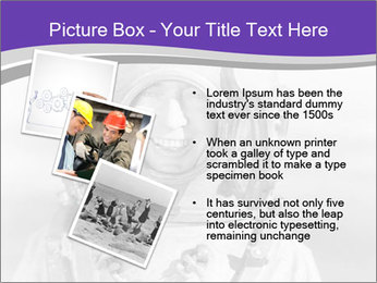 Portrait of man PowerPoint Template - Slide 17
