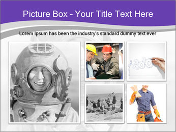 Portrait of man PowerPoint Templates - Slide 19