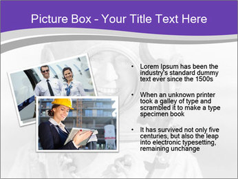 Portrait of man PowerPoint Template - Slide 20