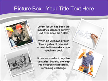 Portrait of man PowerPoint Templates - Slide 24