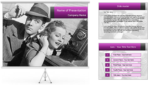 Telephone PowerPoint Template