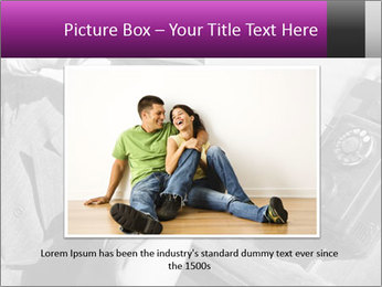 Telephone PowerPoint Template - Slide 15