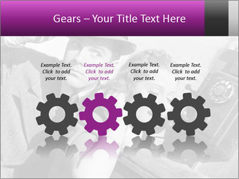 Telephone PowerPoint Template - Slide 48