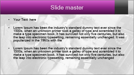 Telephone PowerPoint Template - Slide 2