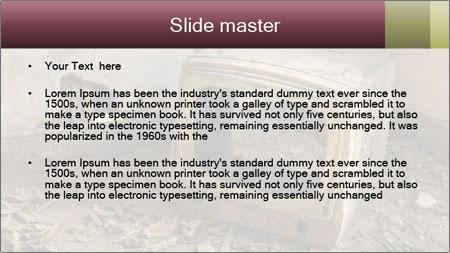 A Broken Television PowerPoint Template - Slide 2