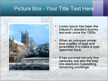Snow covered PowerPoint Template - Slide 13