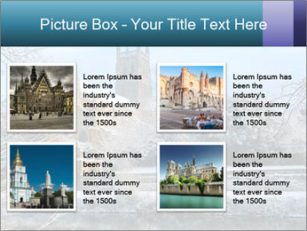 Snow covered PowerPoint Template - Slide 14