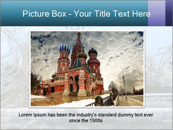 Snow covered PowerPoint Template - Slide 15