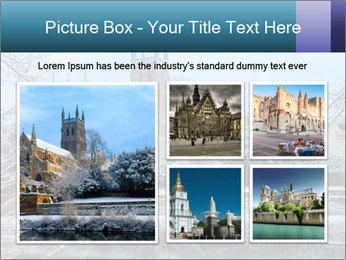 Snow covered PowerPoint Template - Slide 19