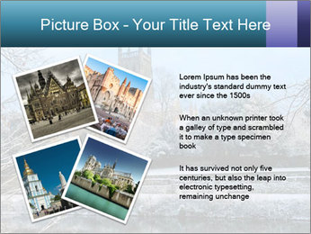 Snow covered PowerPoint Template - Slide 23