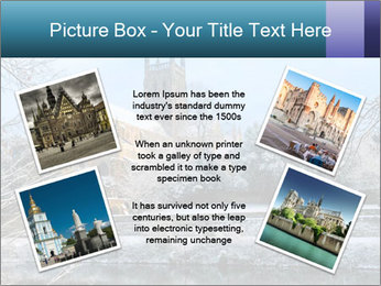 Snow covered PowerPoint Template - Slide 24