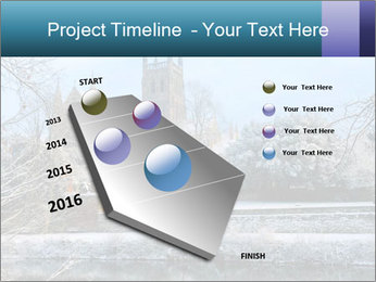 Snow covered PowerPoint Template - Slide 26