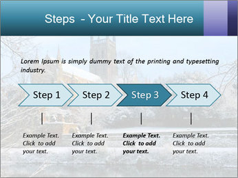 Snow covered PowerPoint Template - Slide 4