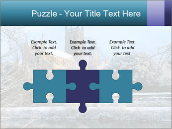 Snow covered PowerPoint Template - Slide 42