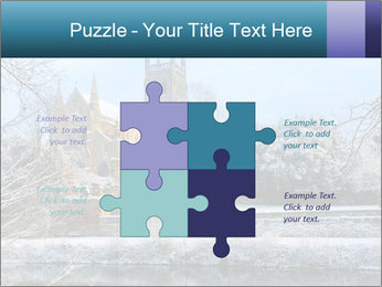 Snow covered PowerPoint Template - Slide 43