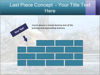 Snow covered PowerPoint Template - Slide 46