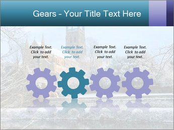 Snow covered PowerPoint Template - Slide 48
