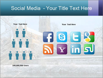 Snow covered PowerPoint Template - Slide 5