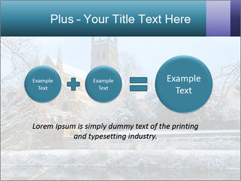 Snow covered PowerPoint Template - Slide 75