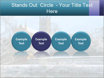 Snow covered PowerPoint Template - Slide 76