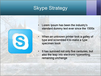Snow covered PowerPoint Template - Slide 8