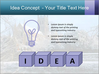Snow covered PowerPoint Template - Slide 80