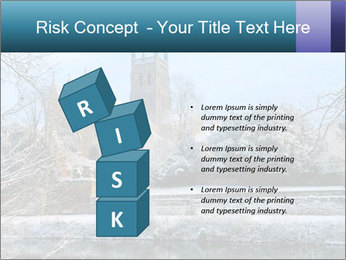 Snow covered PowerPoint Template - Slide 81