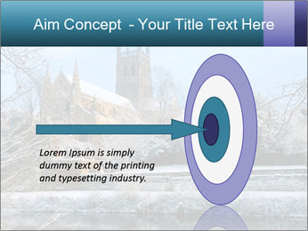 Snow covered PowerPoint Template - Slide 83