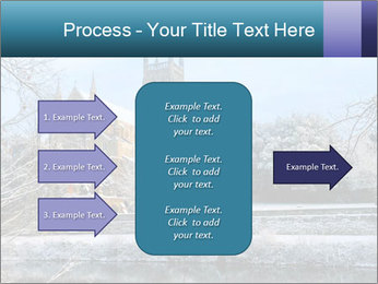 Snow covered PowerPoint Template - Slide 85